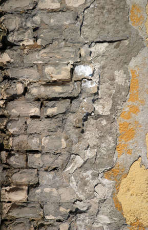 Full screen high resolution shot of old wall. Good for a texture or a background. Stock Photo - 3121999