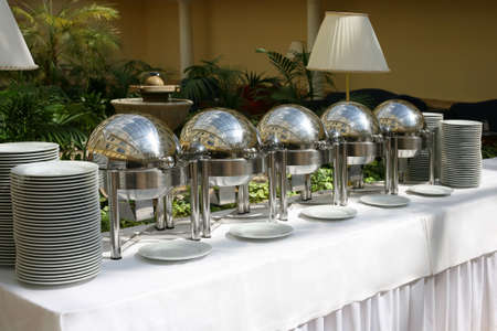 buffet food: Una imagen de un evento de alta categor�a buffet  Foto de archivo