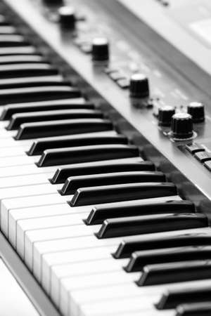 median: keyboards on an electric piano
