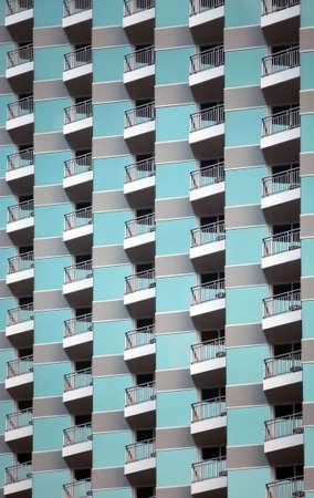 The facade of a modern apartment building Stock Photo - 5905454