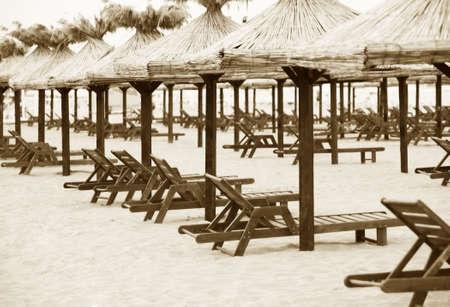 Deserted beach. Stock Photo - 6355485