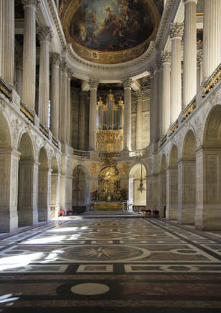 versailles: Royal Chapel of Versailles Palace, France