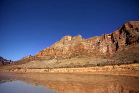 rock layers: Beautiful Landscape of Grand Canyon with the Colorado River