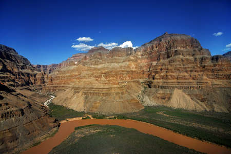 Beautiful Landscape of Grand Canyon with the Colorado River  photo