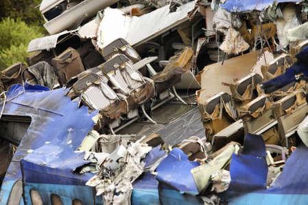 Airplane crash, scene from the movie photo