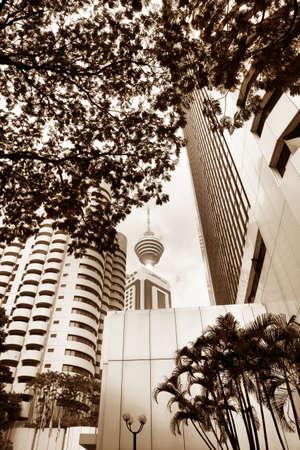 Television tower in Kuala Lumpur. Malaysia photo