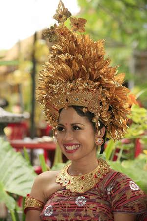 The Indonesian happy bride  Bali  Indonesia photo