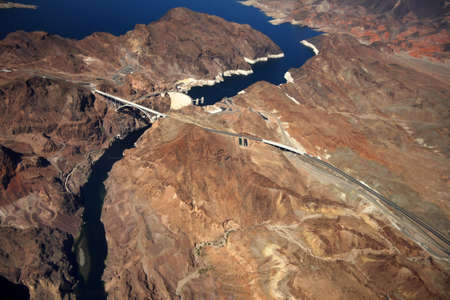 CLARK COUNTY, NV  - 21 SEPTEMBER 2011  The Hoover Dam when completed in 1939 was the world photo