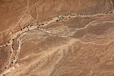 Aerial view of desert  Wilderness Area. Arizona, United States photo