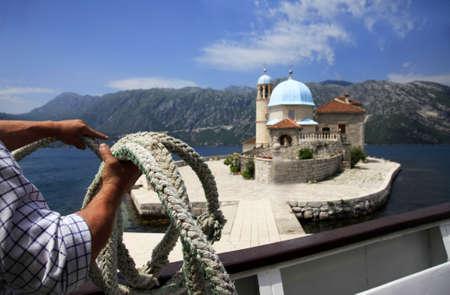 montenegro: Ostrvo Gospa od Skrpjela, Ostrvo Sv  Dordije  Montenegro