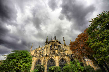Notre Dame de Paris at day. France Stock Photo - 16860432