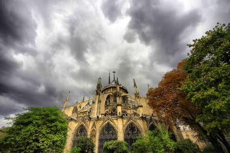 Notre Dame de Paris at day. France Stock Photo - 16860432