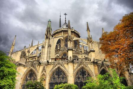 Notre Dame de Paris at day. France Stock Photo - 16860448