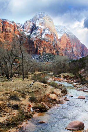 high desert: Virgin River Narrows in Zion National Park - Utah