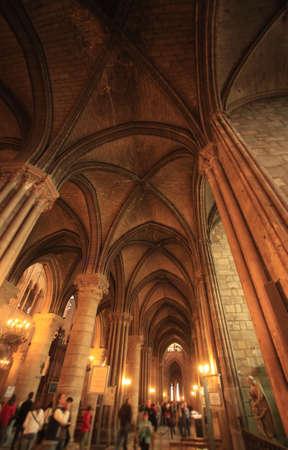 notre dame de paris: Cathedrale Notre Dame de Paris. France