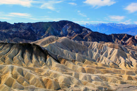 Famous view over Death Valley National Park, USA photo