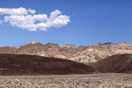 The famous section of Death Valley in California photo