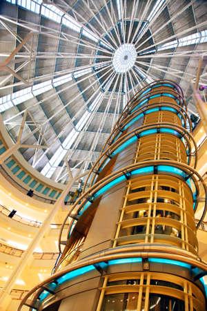 building security: Kuala Lumpur Building from Inside. Petronas Twin Towers. Malaysia
