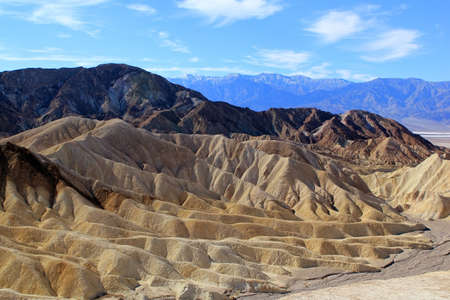 Famous view over Death Valley National Park. USA photo