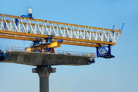 schlagbaum: Autobahn im Bau In Miami
