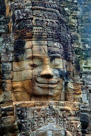 murals: Stone murals and sculptures in Angkor wat. Cambodia