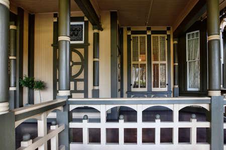 winchester: Il Winchester Mystery House - il numero civico 525 a Winchester Boulevard a San Jose, California, Stati Uniti d'America, � ora un'attrazione turistica stravagante. Editoriali