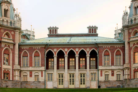 tsaritsino: Palace of the Russian Empress Catherine II of the early 19th century in Tsaritsyno in Moscow, Russia Editorial