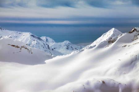 elbrus: Russia. Caucasus. View on Elbrus Mount - the highest point of Europe
