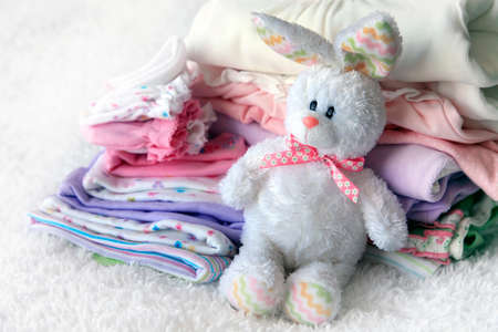 dowry: Lot of different baby clothes for the newborn