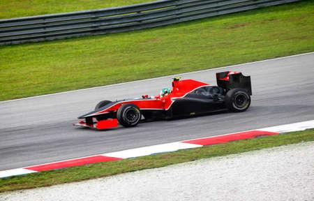 motor racing: SEPANG, MALAYSIA - APRIL 04 : Virgin Racing driver Lucas di Grassi of Brazil drives during at the Sepang F1 circuit April 04, 2010 in Sepang, Malaysia