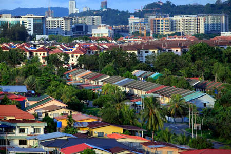 kota kinabalu: Kota Kinabalu cityview. Kota Kinabalu city is the capital of the state of Sabah located in Borneo Island