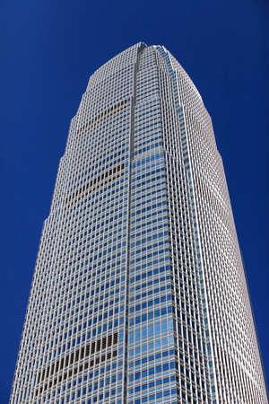 fasade: Fasade of office building in Hong Kong
