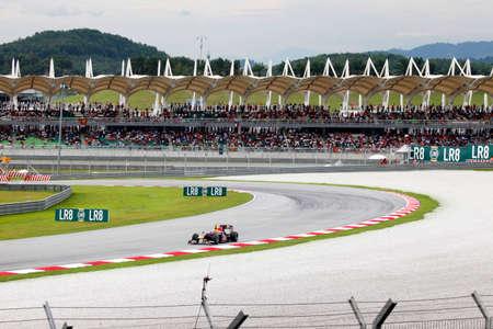 SEPANG, MALAYSIA - APRIL 4 : Malaysian Grand Prix at Sepang F1 first circuit April 4, 2010 in Sepang Editorial