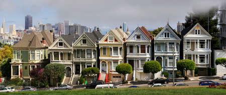 transamerica: View to San Francisco with Alamo Square