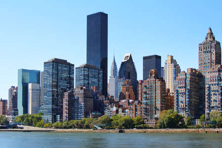 New York City - Manhattan. Near the bridge Queensboro in New York Stock Photo