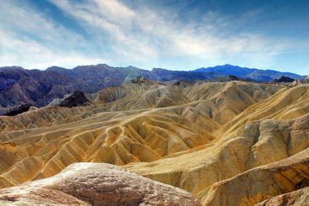 valley view: Famous view over Death Valley National Park. USA