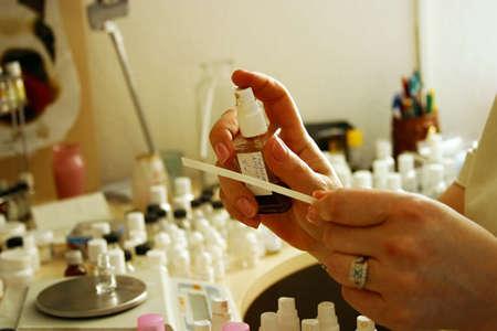 Oprichting van nieuwe parfum