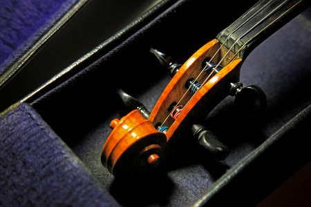 1937 old violin close up