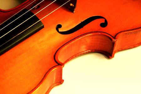 1937 old violin in studio close up Stock Photo