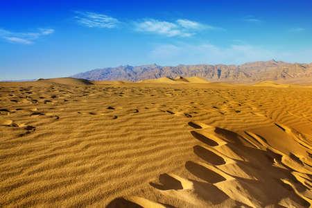 Increspature E Picchi Di Montagna. Parco nazionale della Valle della Morte, California