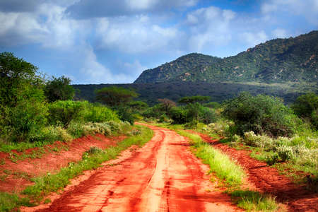Park Tsavo East National in Kenya
