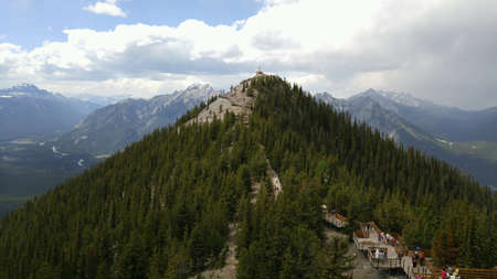 View from Sulphur Mountain in Banff Alberta