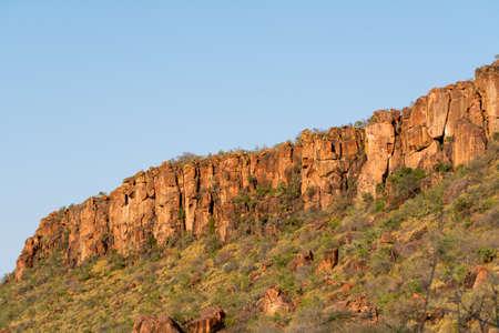 namibia: Waterberg Mountain in Namibia, Africa.