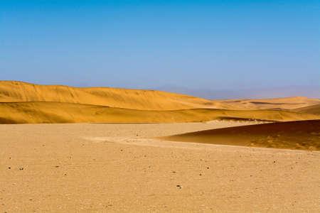 swakopmund: Sand dunes in the region of swakopmund and walvis bay, namibia, southern africa Stock Photo