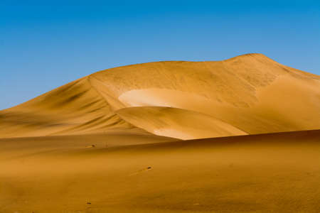Sand dunes in the region of swakopmund and walvis bay, namibia, southern africa Stock Photo