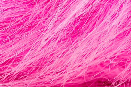 Close-Up of a pink fabric fibre with dynamic concept Stok Fotoğraf