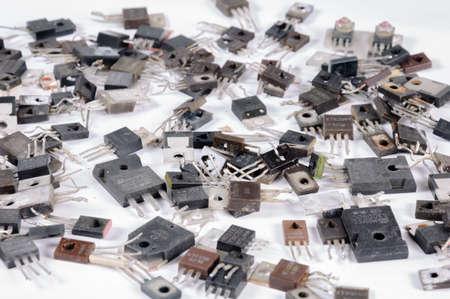 conductivity: transistors