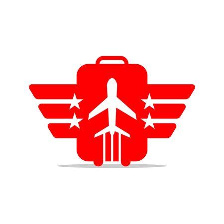 air: Air Plane Flight International Illustration