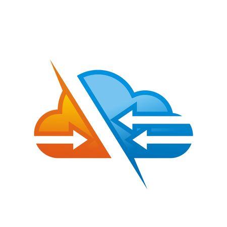 Arrow cloud logo