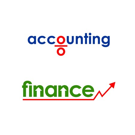accounting logo: Business finance accounting logo vector Illustration